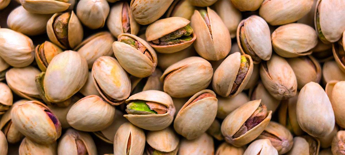 partir pistachos